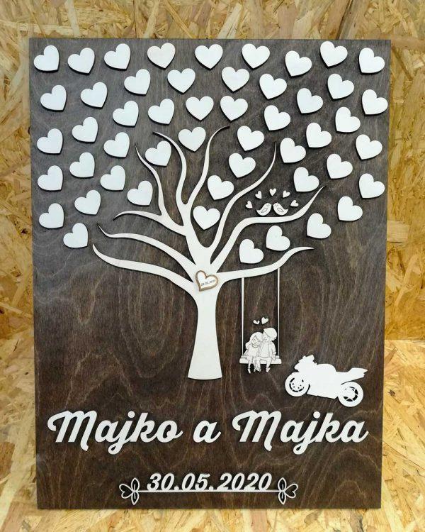 dreveny-svadobny-strom-personalizovany-s-motorkou