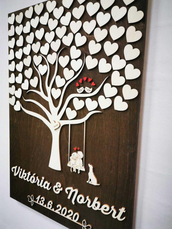 svadobny-strom-obraz-na-stenu-pes-vtaciky