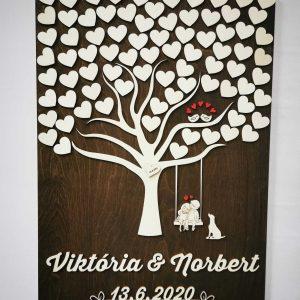svadobny-strom-obraz-na-stenu-pes-vtaciky-svadba